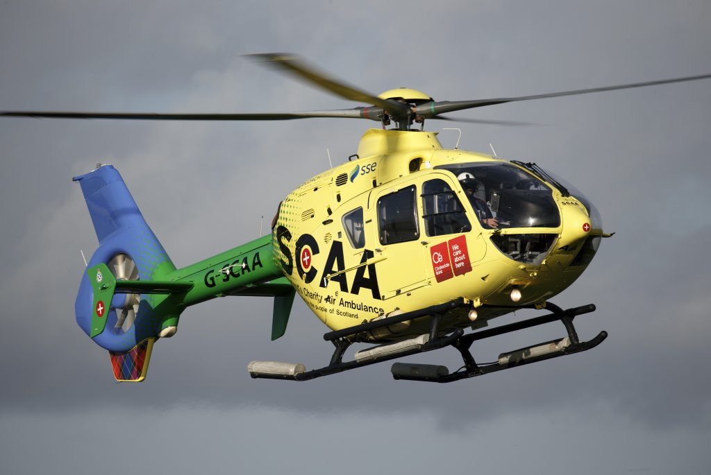 It costs over £2.5m a year to run an Air Ambulance